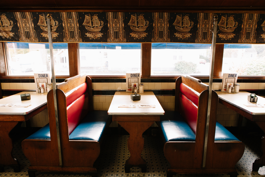 Diner Booth at Restaurant